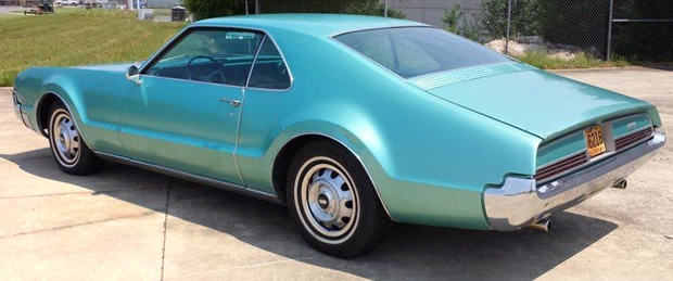 1966 Oldsmobile Toronado - rear view