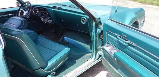 1966 Oldsmobile Toronado Deluxe In Tropic Turquoise