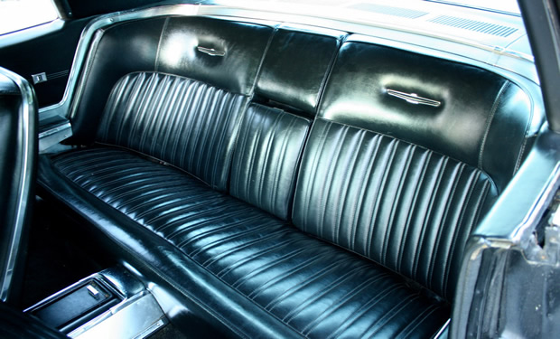1967 Ford Thunderbird back seat