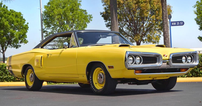 1970 Dodge Coronet 440 R/T With RAMCHARGER And Banana FY1