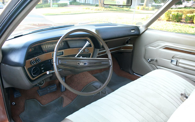 1970 Ford Galaxie 500 Interior