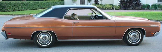 1970 Ford Galaxie 500 Coupe