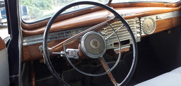 1946 Packard Clipper Dash