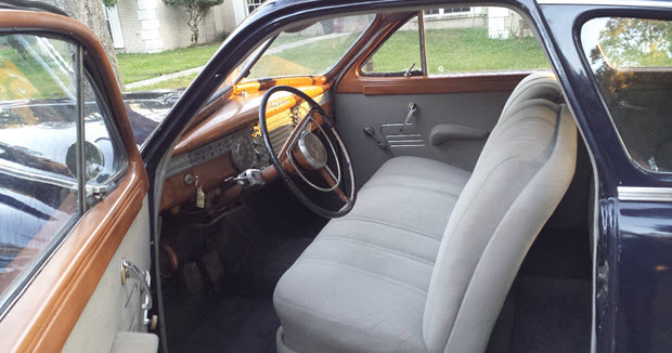 1946 Packard Clipper Interior
