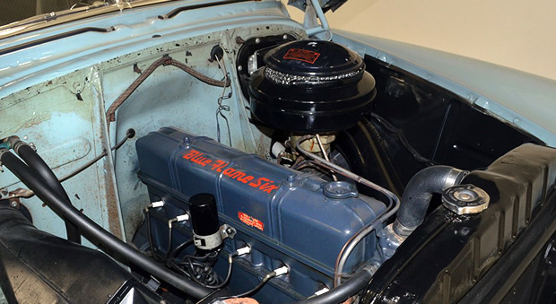 1952 Chevrolet Blue Flame Six Engine