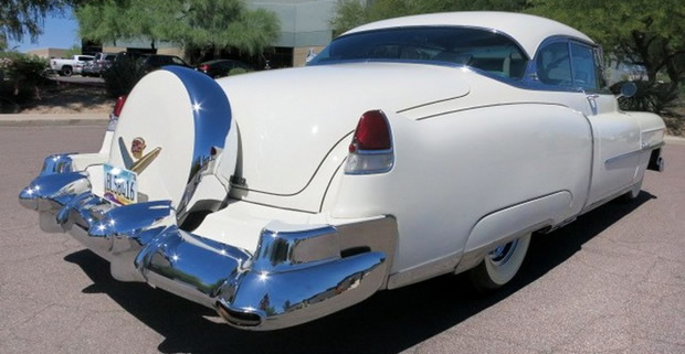 1953 Cadillac Coupe de Ville with Continental Kit