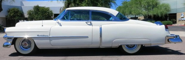 1953 Cadillac Coupe DeVille - side view