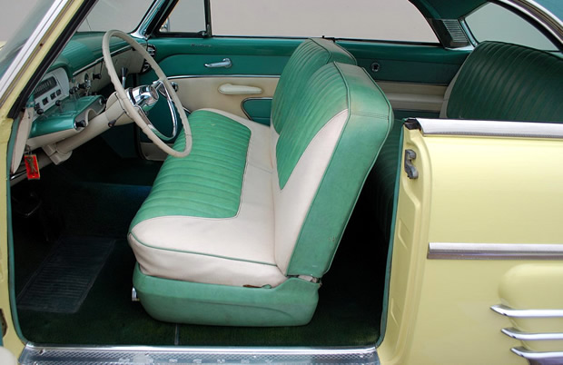 1954 Mercury Monterey Sun Valley Interior