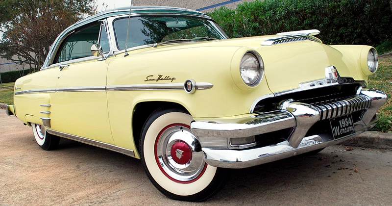 1954 Mercury Monterey Sun Valley In Yosemite Yellow