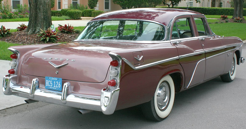 1956 DeSoto Firedome Sedan - Rear view