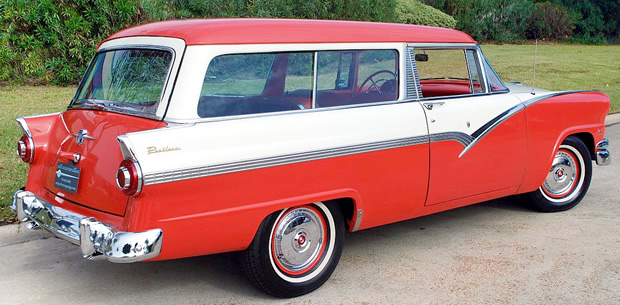 1956 Ford Parklane - side view
