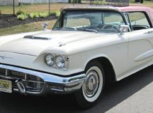 1960 Ford Thunderbird with sunroof