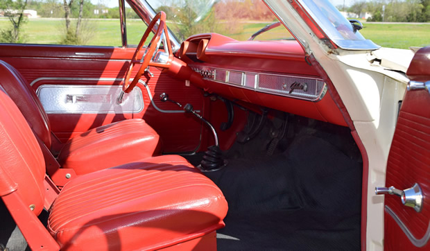 1963 Ford Galaxie Lightweight Interior