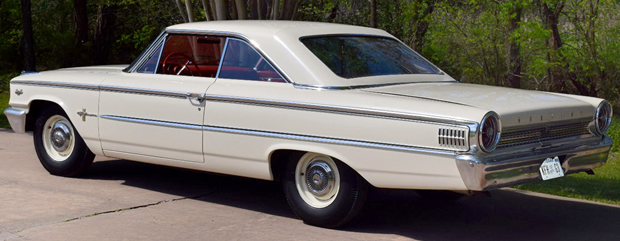 1963 Ford Galaxie Lightweight Rear