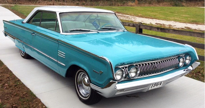 1964 Mercury Montclair 2 Door Marauder Fastback