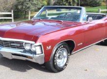 1967 Chevrolet Impala SS396 Convertible