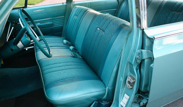 1968 Dodge Polara Sedan In Medium Turquoise Metallic