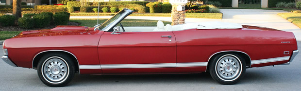 69 Ford Fairlane Torino GT Convertible