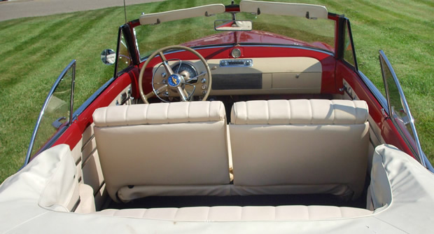 1949 Oldsmobile 98 Convertible interior