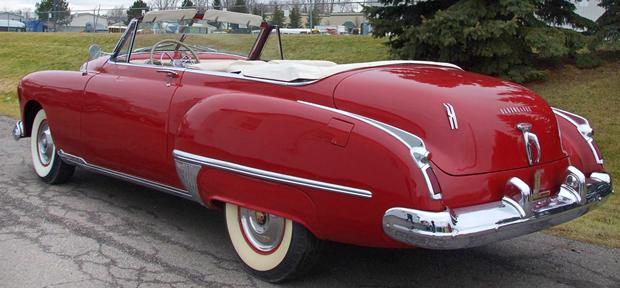 Oldsmobile Convertible Rear