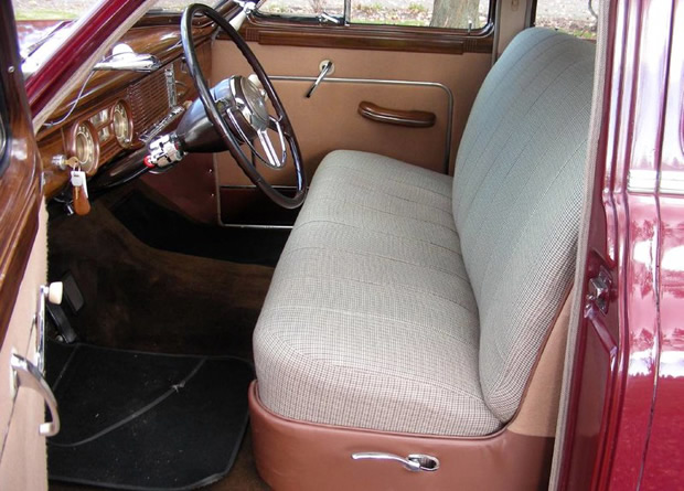 1949 Packard Eight Interior