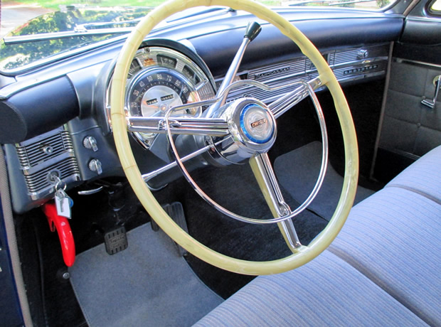 1950 Chrysler New Yorker Dash Interior