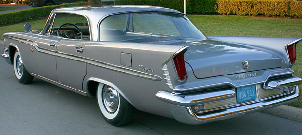 1959 Chrysler Windsor Hardtop Sedan Rear