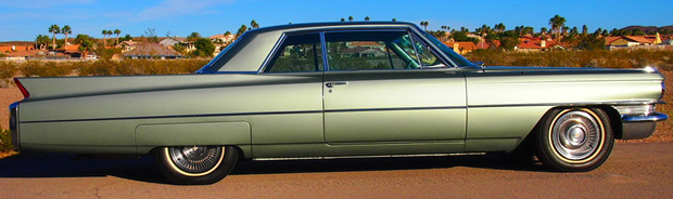 1963 Cadillac 62 Coupe - side view