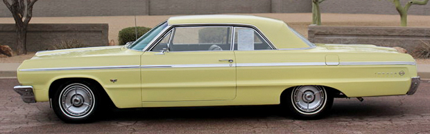 1964 Chevy SS Impala side view