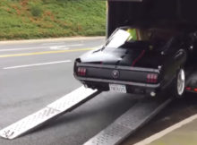 1965 Mustang Trailer Crash