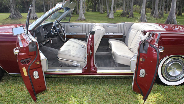 1967 Lincoln Continental Conv Suicide Doors