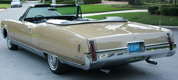 1967 Oldsmobile 98 Convertible rear