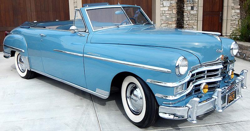 1949 Chrysler Windsor Convertible