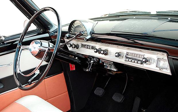 1954 Ford Crestline Skyliner Sandstone White Over Cameo