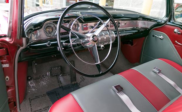 1955 buick century 2 door riviera hardtop with dynaflow