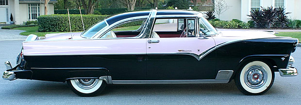 1955 Ford Crown Victoria - side view