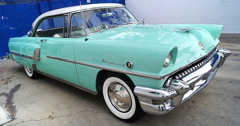 1955 mercury monterey hardtop coupe white over green for 1955 mercury monterey 2 door hardtop