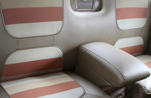 1958 Chevy Impala rear seat