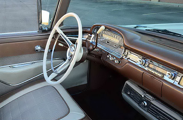 1959 Ford Galaxie Skyliner Interior