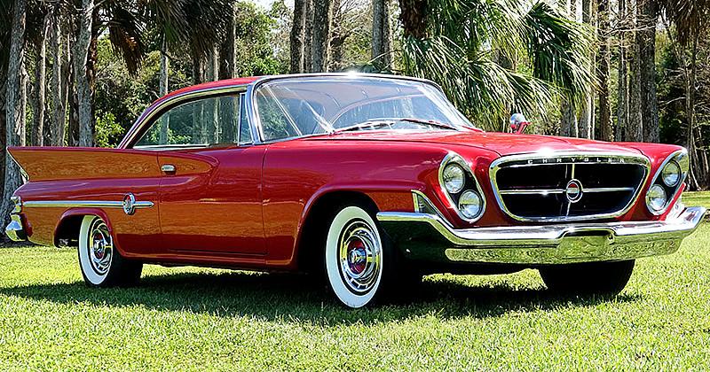 1961 Chrysler 300g Hartop Coupe Spectacular Restoration