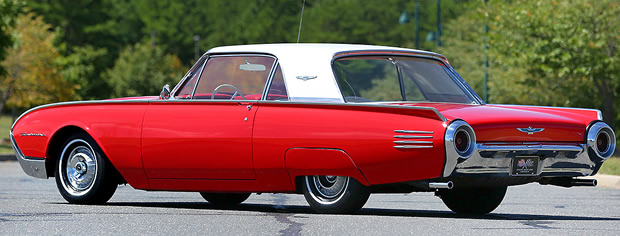 1961 Ford Thunderbird Coupe Rear