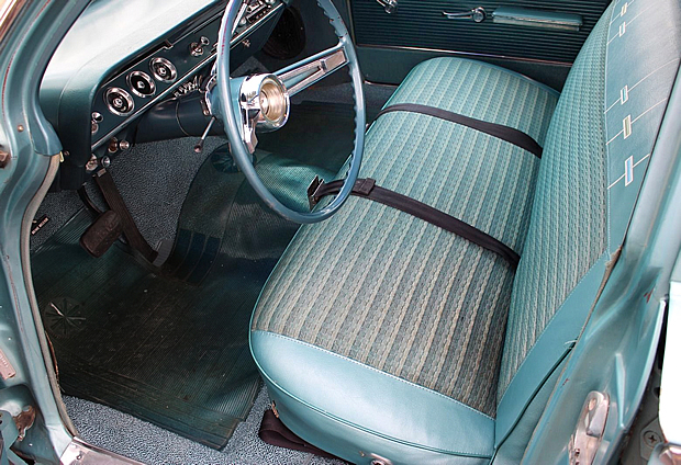 1962 Chevrolet Bel Air Station Wagon in Ermine White over ...