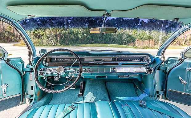 Car That Runs On Air >> 1962 Pontiac Bonneville 4-door Vista Hardtop in Aquamarine Metallic paint