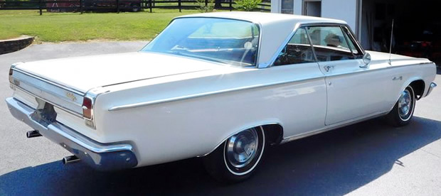 1965 Dodge Coronet 500 With 383 Cubic Inch V8 Producing 270hp