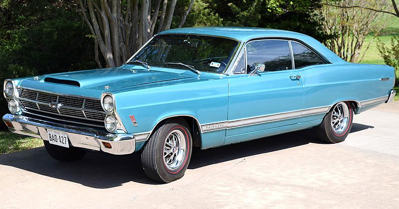 1967 Ford Fairlane 500 W Code 427 V8