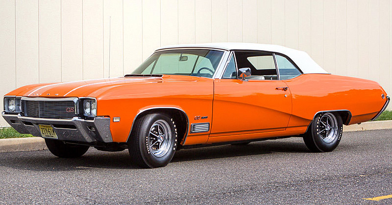 1968 Buick Gs 400 Convertible Custom Color Packed With