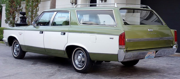 1969 AMC Rebel SST Wagon Rear