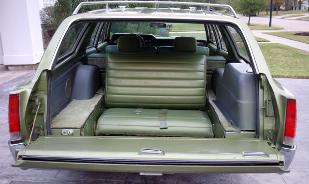 1969 AMC Rebel Wagon Cargo Space