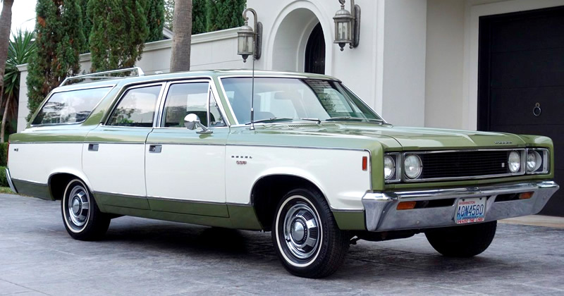 1969 AMC Rebel SST Station Wagon