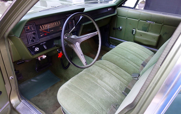 1969 AMC Rebel Wagon Interior